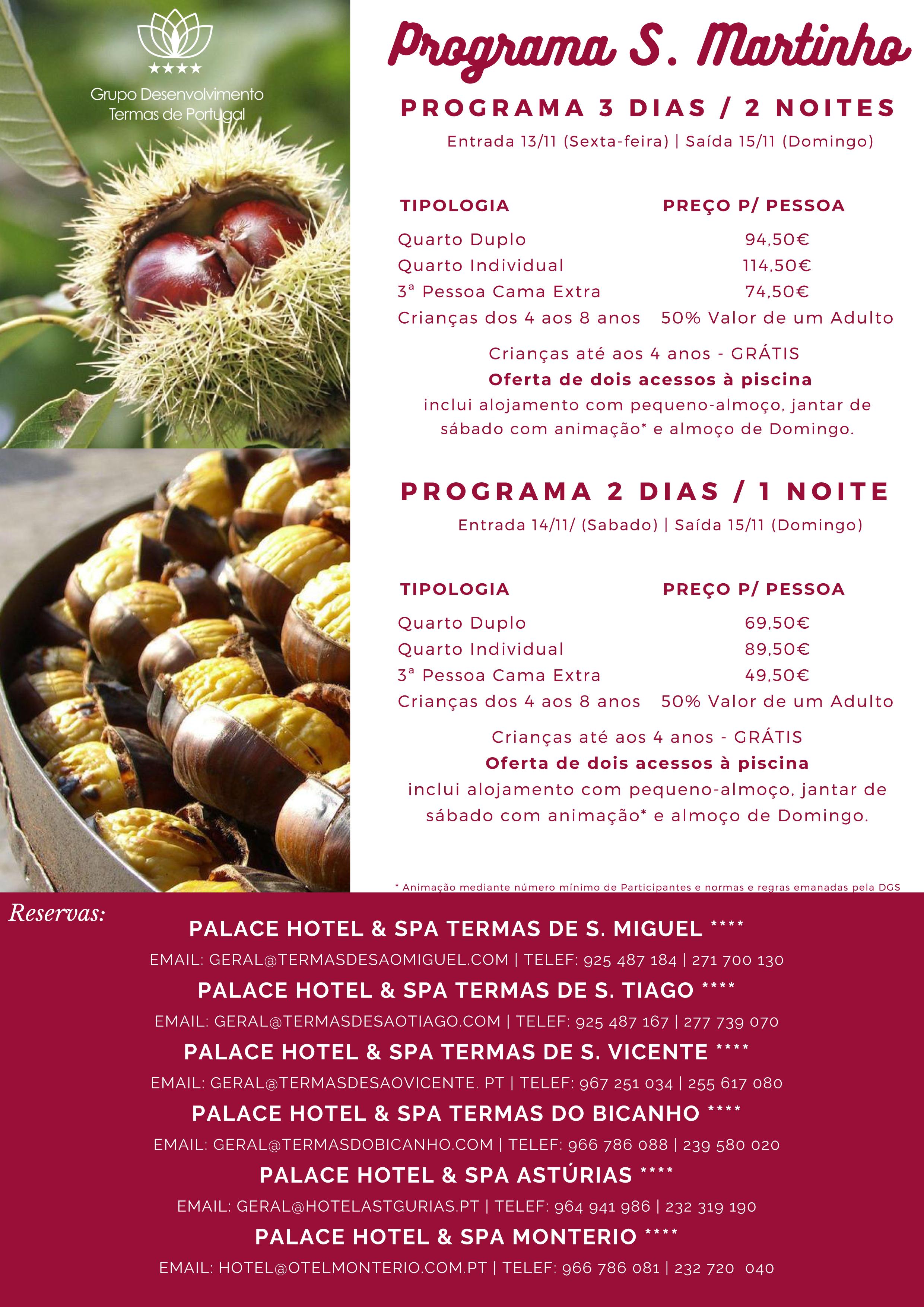Programa de S. Martinho